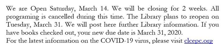 2020 0314 Closing notice.JPG