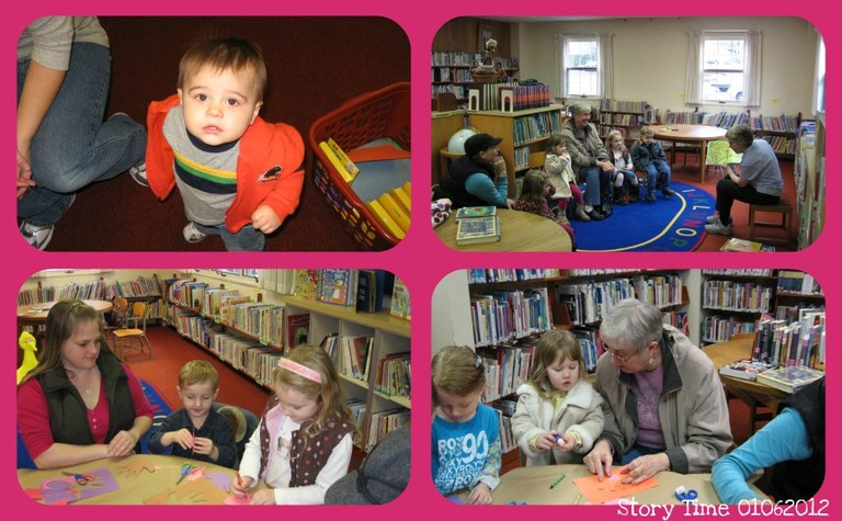 Story Time Collage B
