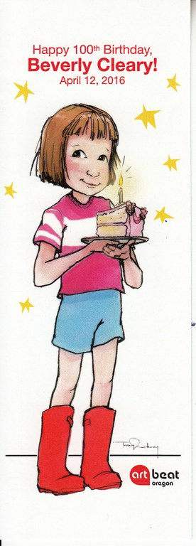 Beverly Cleary Bookmark