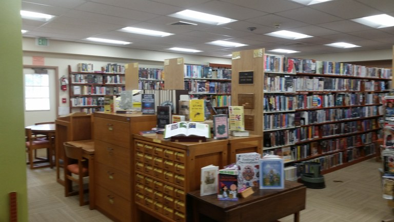 Adult Fiction and Non-Fiction Section