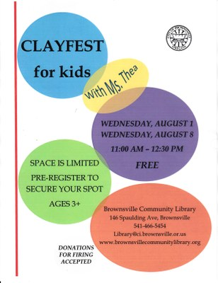 Clayfest for Kids