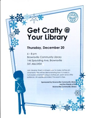 Get Crafty at your Library